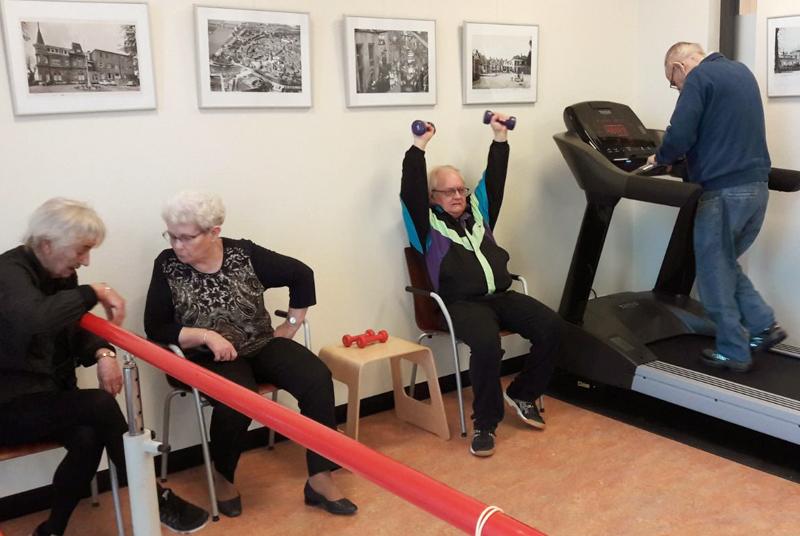 Arcus fysiotherapie ook in woonzorgcentrum de Polbeek Zutphen