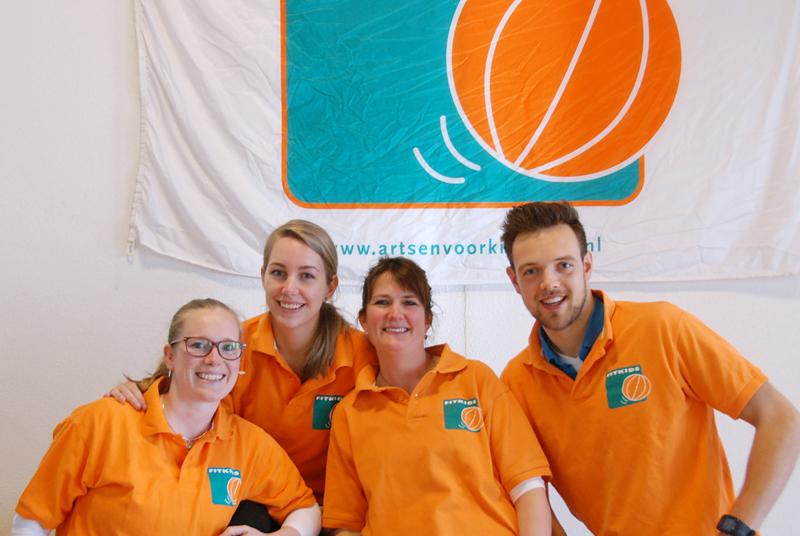 team fitkids Arcus Fysiotherapie Zutphen