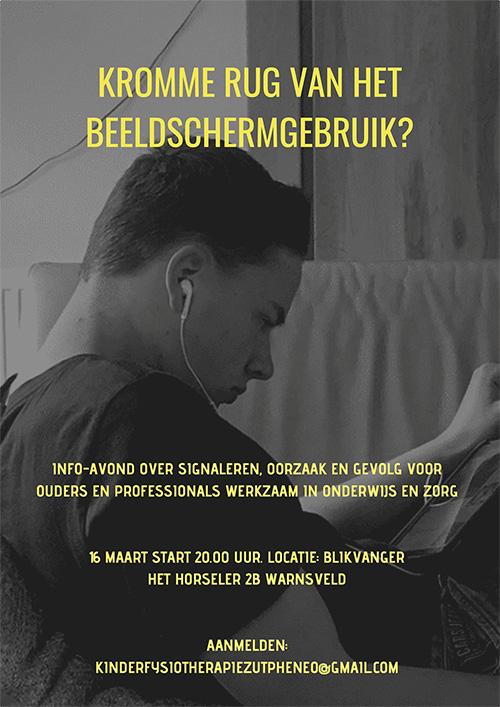 tabletnek bij jeugd, kinderfysiotherapie Arcus Zutphen