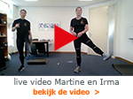 live video Martine en Irma