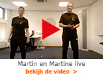 Martin en Martine live video Arcus Zutphen