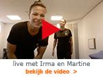 live thuisvideo met Irma en Martine