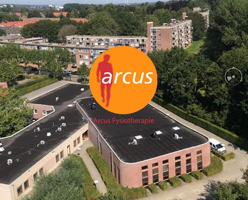Arcus Fysiotherapie vanuit de lucht