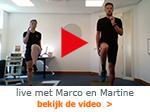 livevideo met Marco en Martine Arcus Zutphen