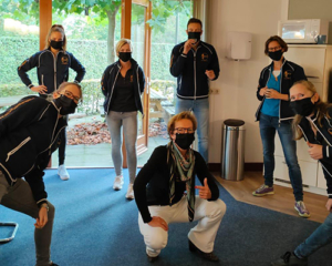 mondkapjes bij Arcus Fysiotherapie Zutphen