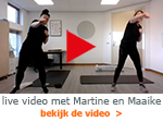 live work-out Maaike en Martine
