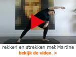 video rekken en strekken met Martine